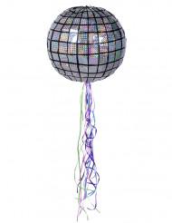 Piñata en forma de bola de discoteca