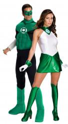 Disfraz de pareja de Linterna Verde™