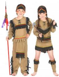 Disfraz infantil de pareja de indios