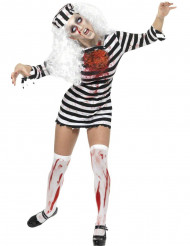 Disfraz de presa zombie para mujer
