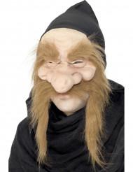 Máscara de brujo anciano para hombre