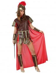 Disfraz de centurión para mujer