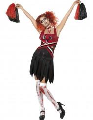 Disfraz de animadora zombie ideal para Halloween