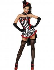 Disfraz de vampiresa sexy para mujer, ideal para Halloween