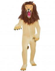 Disfraz de león furioso para adulto