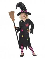 Disfraz de bruja de los gatos para niña ideal para Halloween