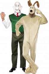 Disfraz de pareja de Wallace y Gromit™