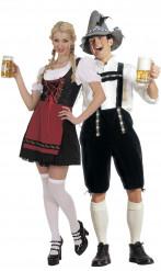 Disfraz de pareja de bávaro