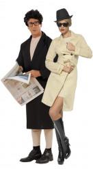Disfraz de pareja de exhibicionistas