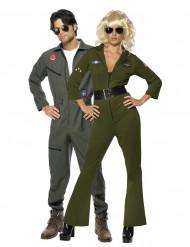 Disfraz de pareja de aviadores de Top Gun™