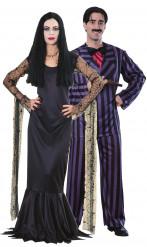 Disfraz de pareja de Morticia y Gómez de la Familia Addams™