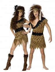 Disfraz de pareja de cavernícolas