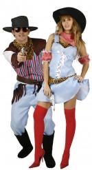 Disfraces de pareja de vaquero y vaquera