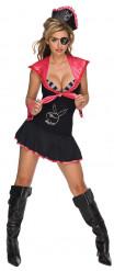 Disfraz de pirata sexy de Playboy™ para mujer
