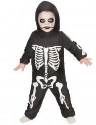 Disfraz de esqueleto para niño, ideal para Halloween