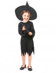Disfraz de bruja para niña aprendiz de magia