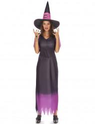 Disfraz de bruja para mujer, ideal para Halloween