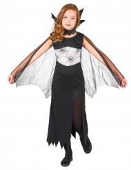 Disfraz de bruja de las arañas para niña ideal para Halloween