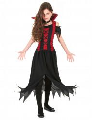 Disfraz de vampiresa para niña ideal Halloween