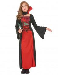 Disfraz de vampiresa niña ideal para Halloween
