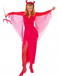 Disfraz de diablesa para mujer alas transparentes