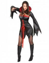 Disfraz de vampiresa sexy mujer Halloween