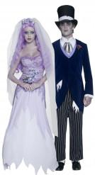 Disfraces de pareja de novio y novia góticos ideales para Halloween