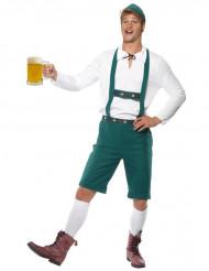 Disfraz de bávaro para hombre tirantes