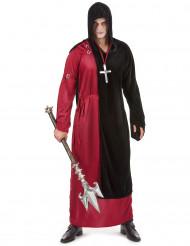 Disfraz de monje siniestro para hombre, ideal para Halloween