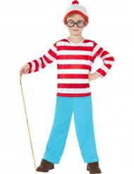 Disfraz de ¿Dónde está Wally?™ para niño