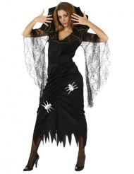 Disfraz de araña para mujer, ideal para Halloween