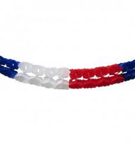 Guirnalda extra con la bandera francesa -6 metros