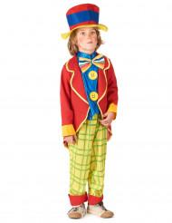 Disfraz de payaso para niño con chaqueta
