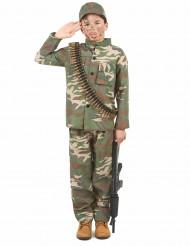 Disfraz de soldado niño