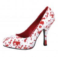 Zapatos ensangrentados para mujer