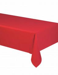 Mantel rojo de papel