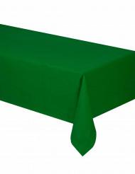 Mantel verde de papel