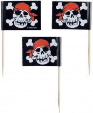 Palillos de cóctel estilo pirata