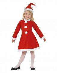 Disfraz de Mamá Noel para niña clásico