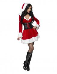 Disfraz de Mamá Noel corsé para mujer