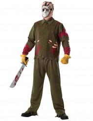 Disfraz de Jason™ de lujo para hombre