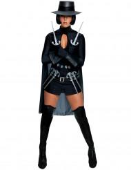Disfraz de V de Vendetta™ para mujer