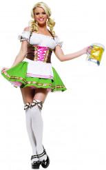 Disfraz de camarera alemana sexy para mujer