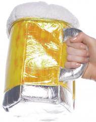 Bolso en forma de jarra de cerveza