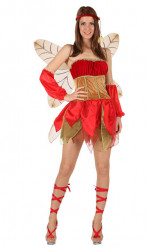 Disfraz de hada de otoño sexy para mujer