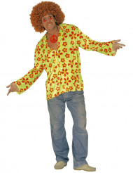 Disfraz verde de hippie