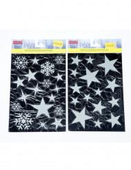 Pegatinas en forma de estrella para Navidad