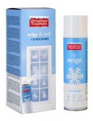 Espray de nieve con plantillas para estarcir ideales para Navidad