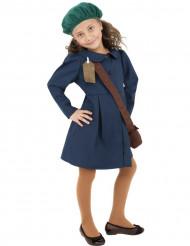 Disfraz de colegiala años 40 para niña