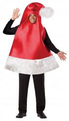 Disfraz gorro de navidad para adulto